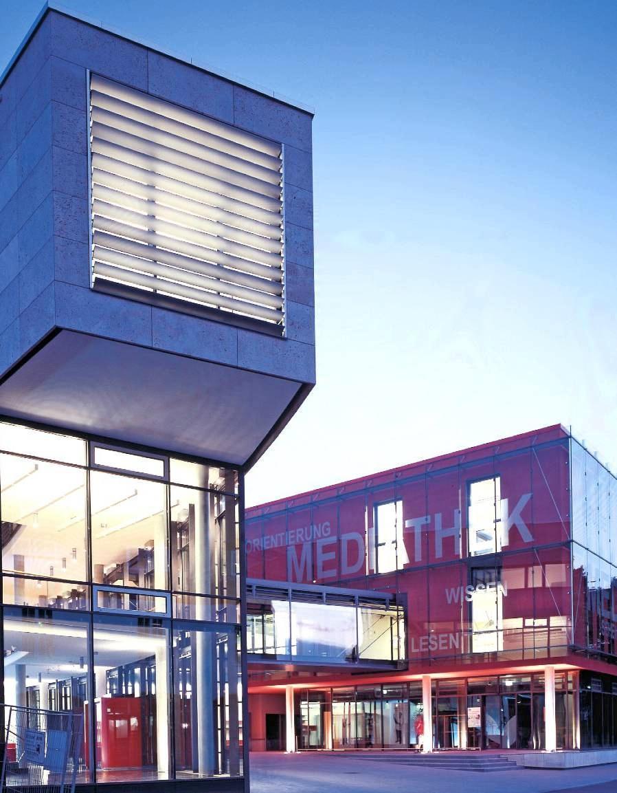 Seit 15 Jahren befindet sich die Mediathek im Herzen der Stadt. Foto: privat