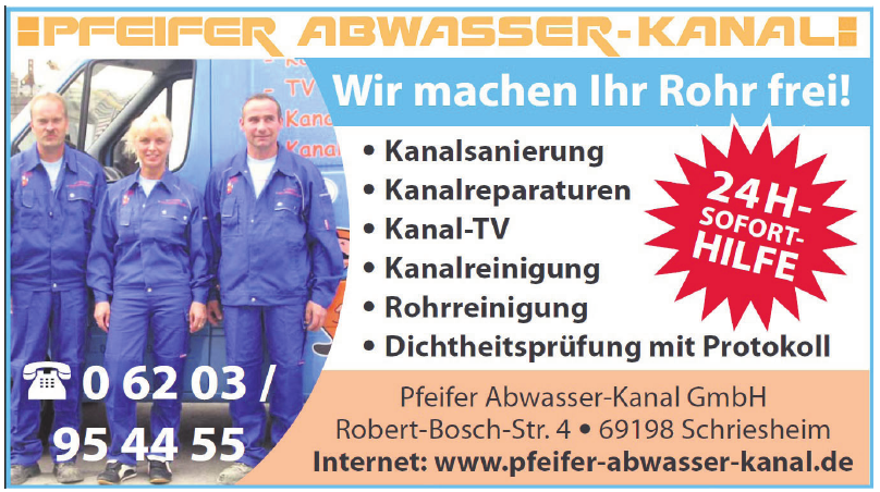 Pfeifer Abwasser-Kanal GmbH