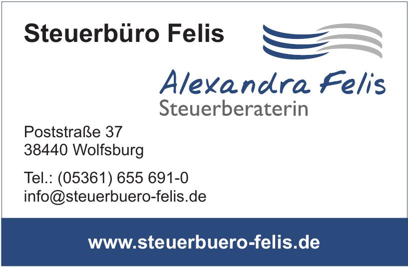 Steuerbüro Felis - Alexandra Felis Steuerberaterin