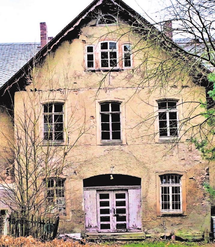 Die Rentei in Stockheim wird saniert.