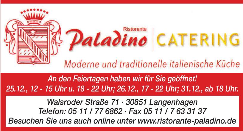 Paladino Catering