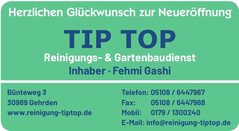 TIP TOP Reinigungs- & Gartenbaudienst