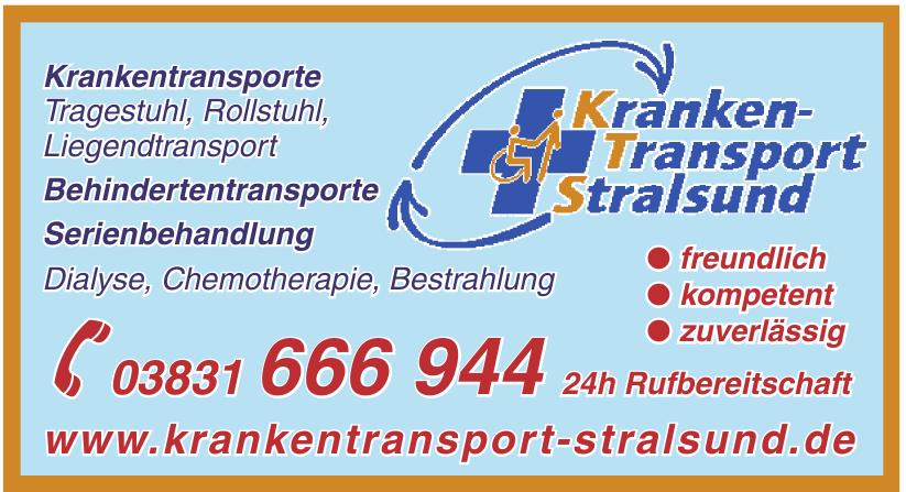 Kranken-Transport Stralsund