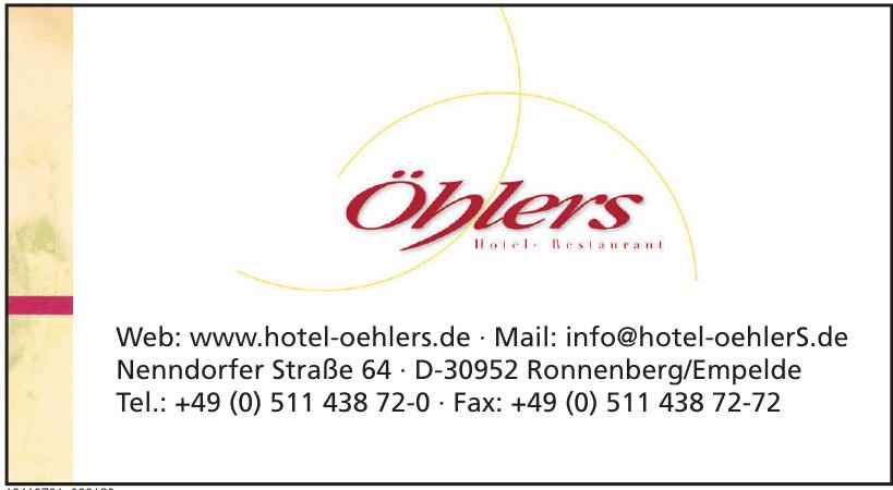 Öhlers Restaurant