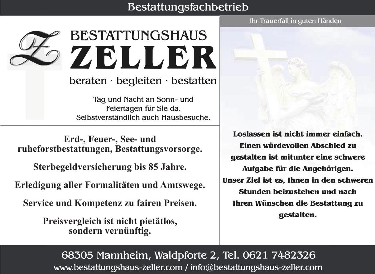 Bestattungshaus Zeller GmbH