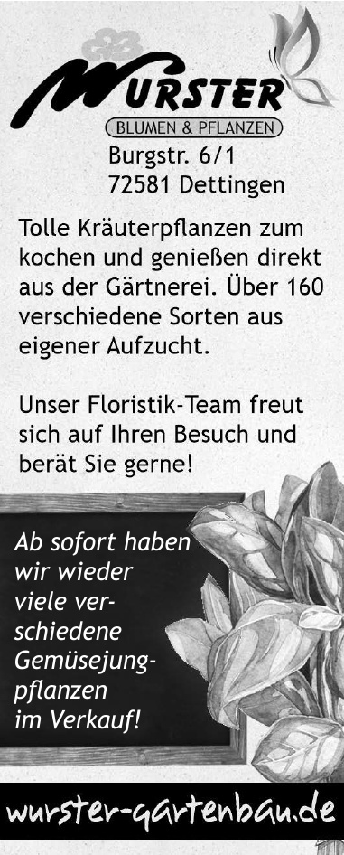 Wurster Blumen & Pflanzen