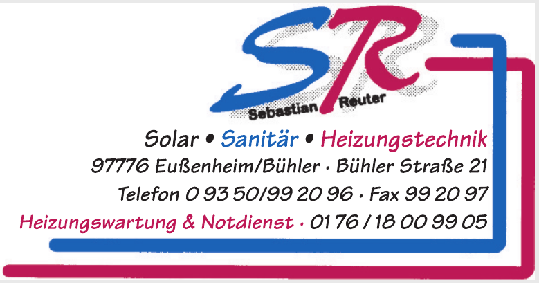 SR Sebastian Reuter Solar, Sanitär, Heizungstechnik
