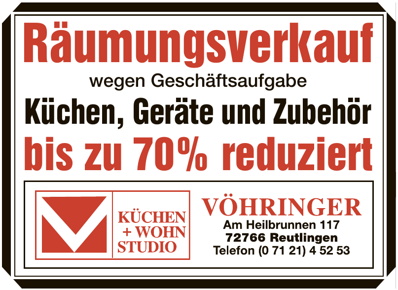 Küchen + Wohn Studio Vöhringer