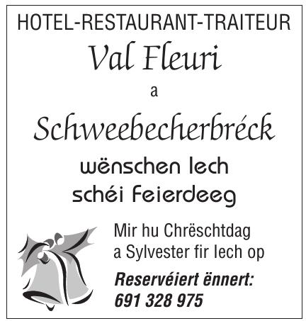 Val Fleuri a Schweebecherbréck