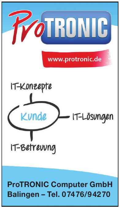 ProTRONIC Computer GmbH