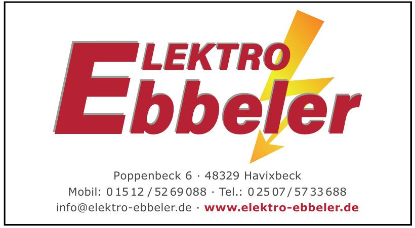 Elektro Ebbeler