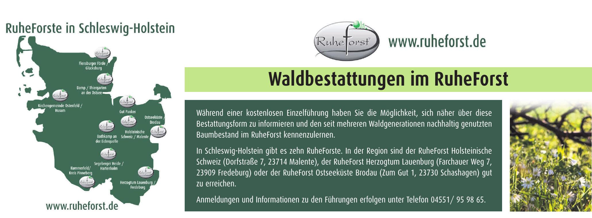 RuheForst Holsteinische Schweiz