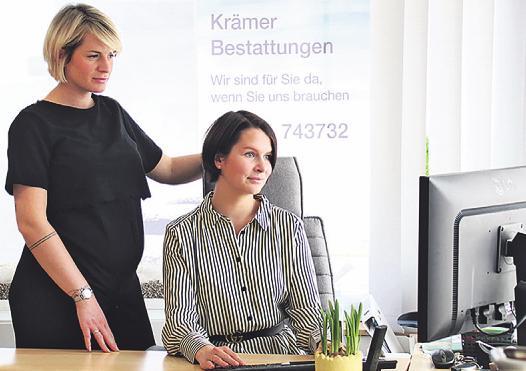 Lisa Golbeck (l.) und Verena Reul realisieren mit viel Herz und Einfühlungsvermögen individuelle Kundenwünsche Bild: CS