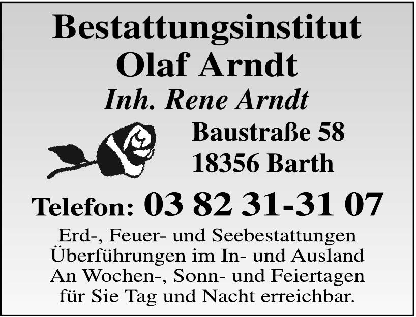 Bestattungsinstitut Olaf Arndt