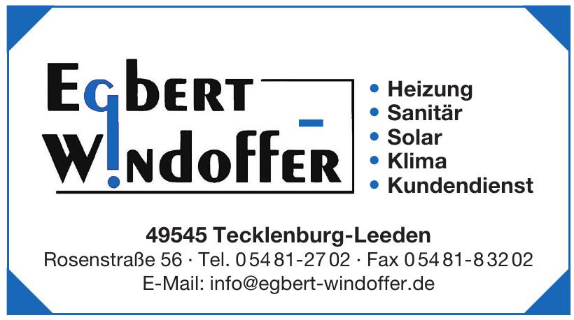 Egbert Windoffer