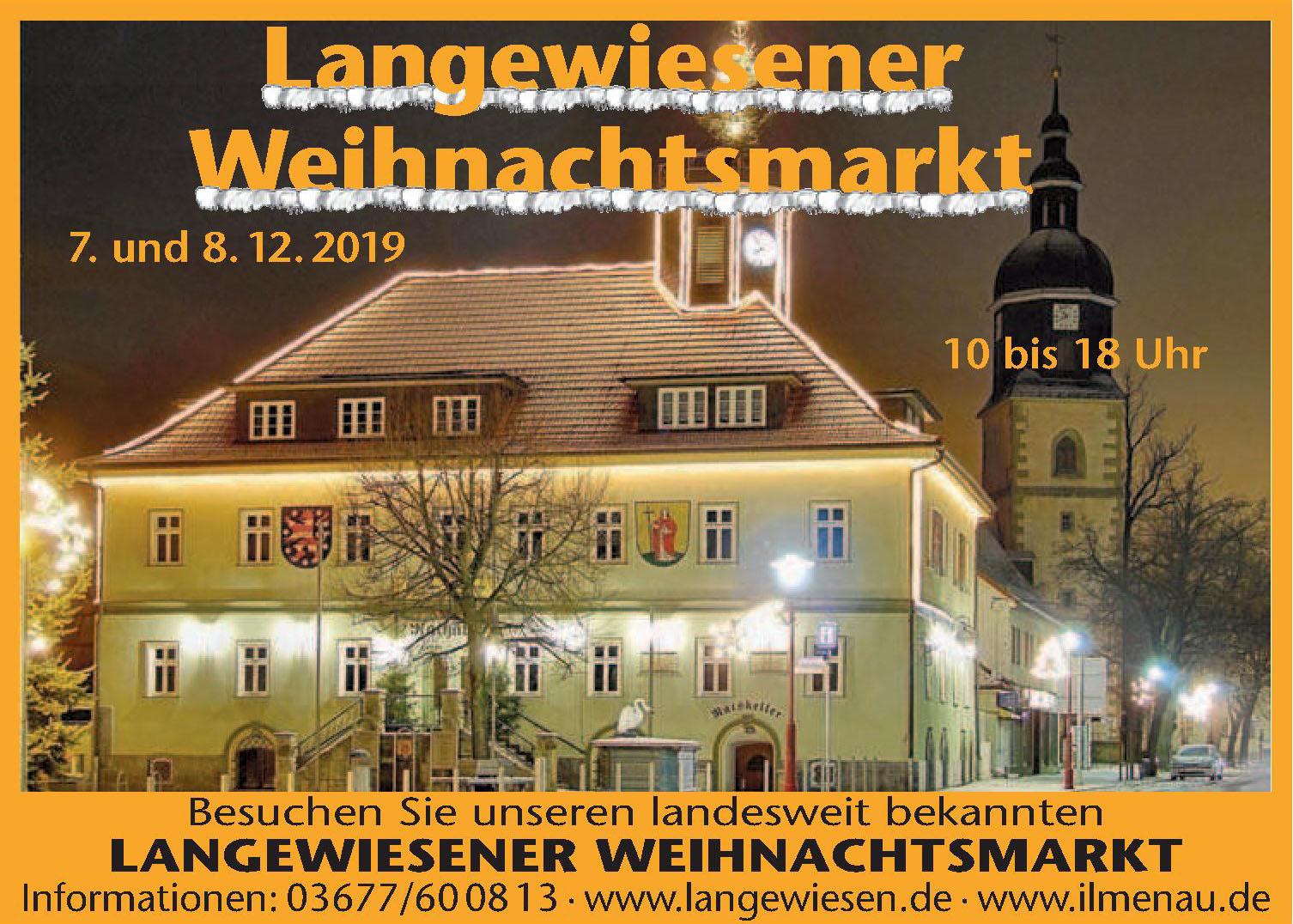 Langewiesener Weihnachtsmarkt