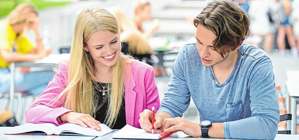 Mehr als 34 000 Studierende sind derzeit insgesamt an der Dualen Hochschule Baden-Württemberg eingeschrieben. BILDER: ANNA LOGUE/DHBW