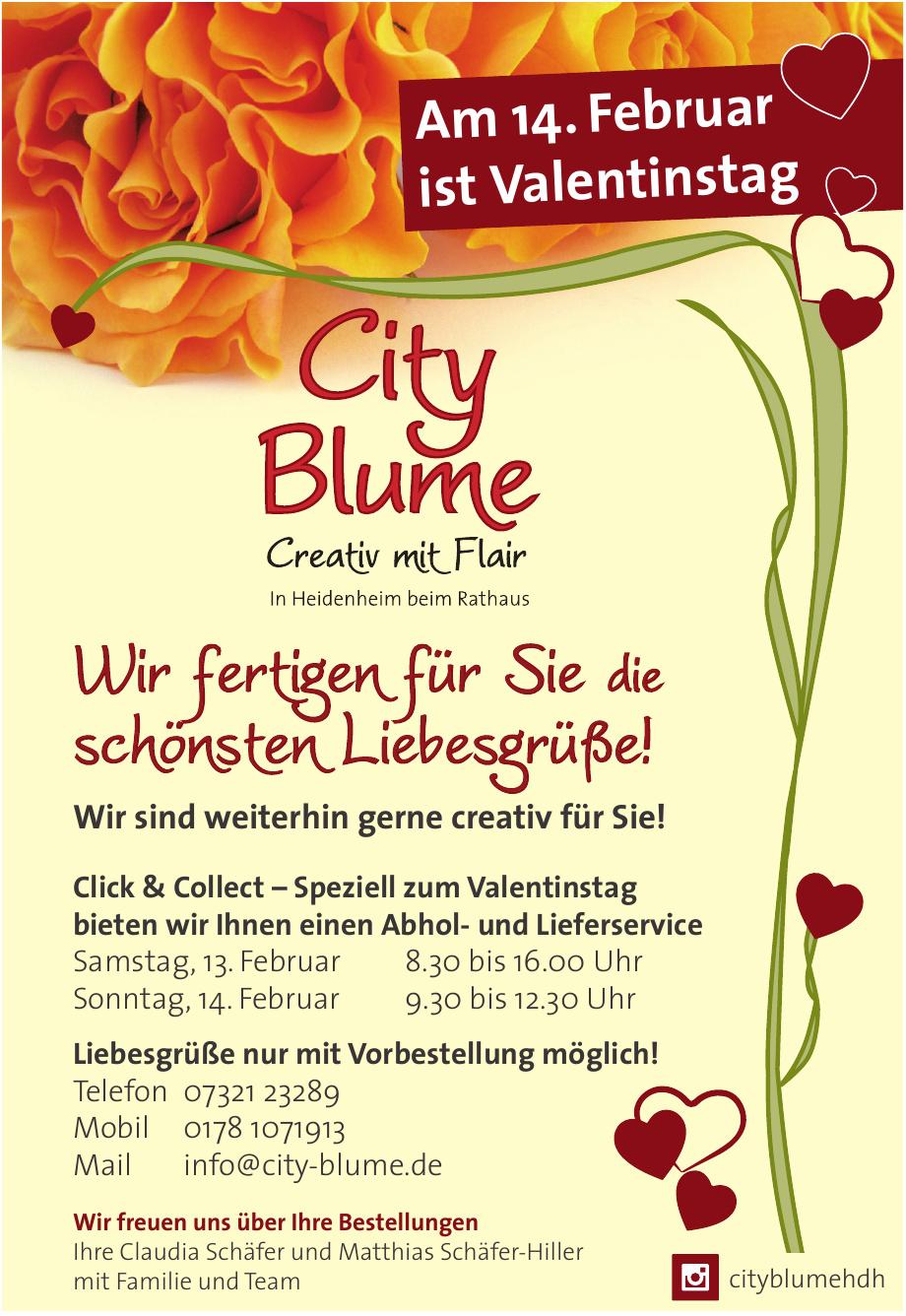 City Blume
