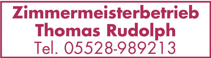 Zimmermeisterbetrieb Thomas Rudolph