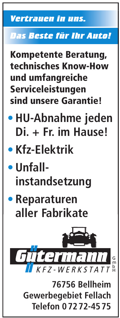 Gütermann Kfz-Werkstatt GmbH
