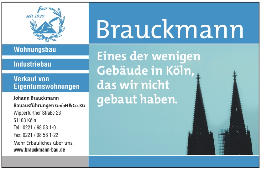 Johann Brauckmann Bauausführungen GmbH & Co. KG