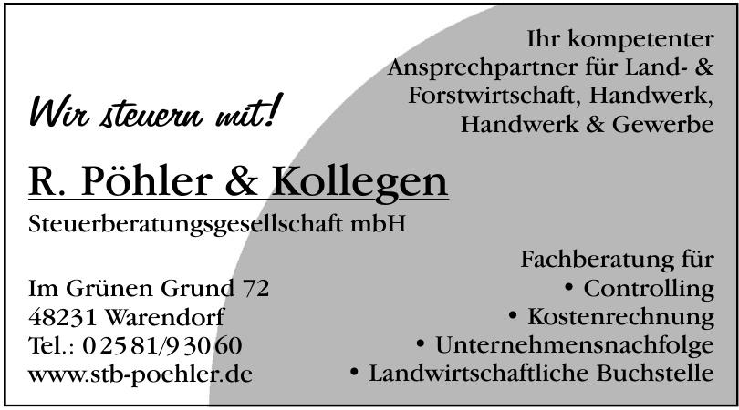 R. Pöhler & Kollegen Steuerberatungsgesellschaft mbH