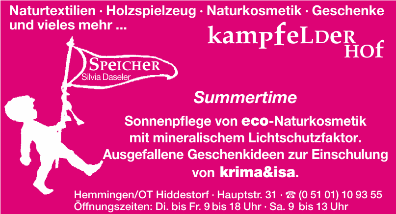 Speicher Silvia Daseler - Kampfelder Hof