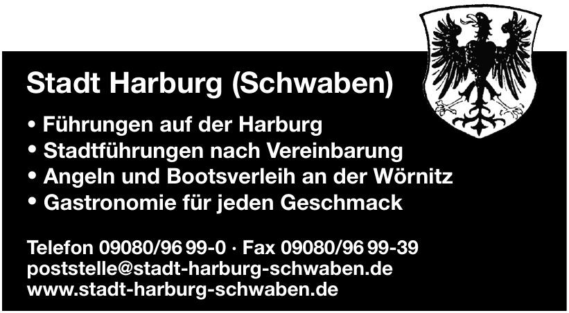 Stadt Harburg (Schwaben)