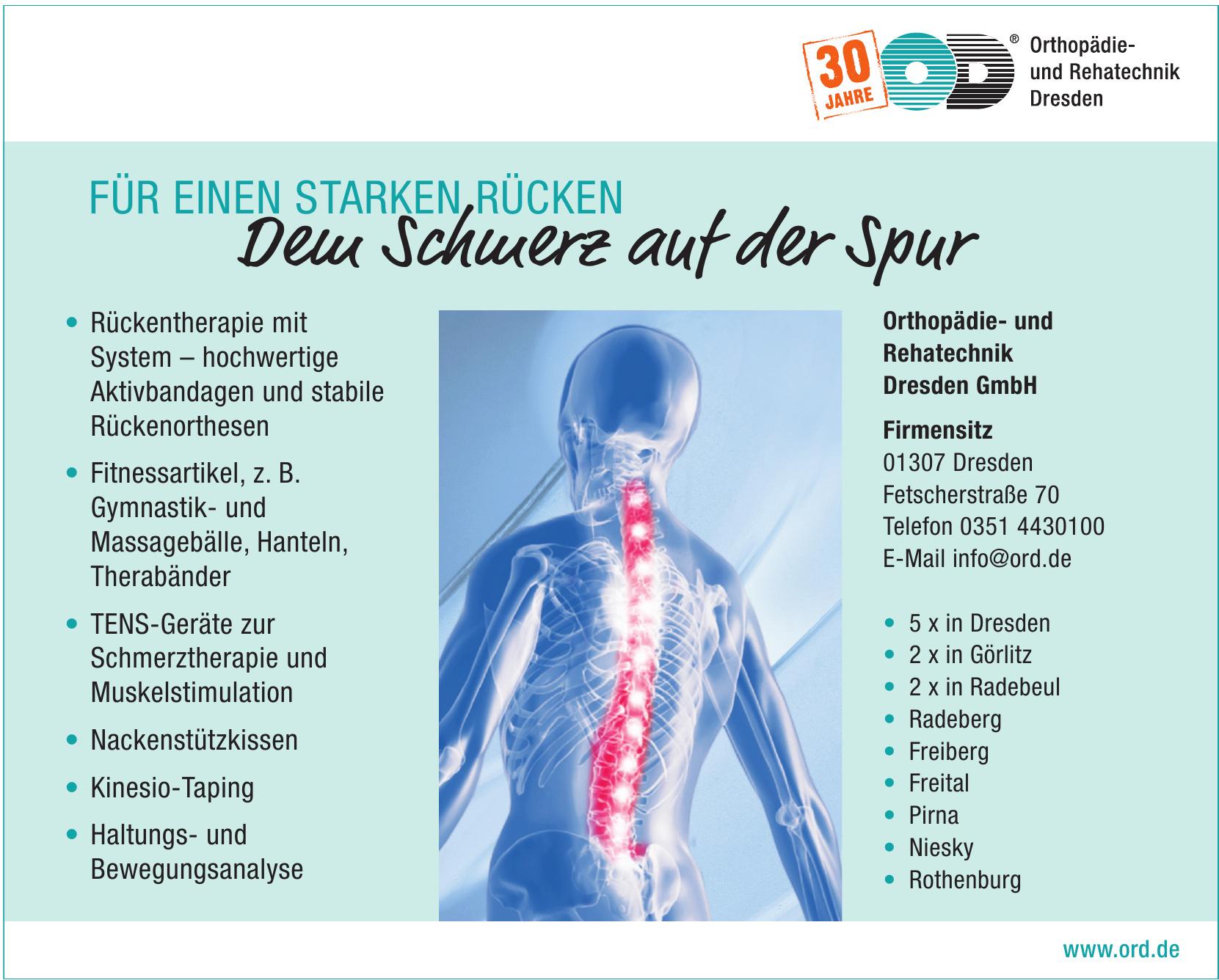 Orthopädie- und Rehatechnik Dresden