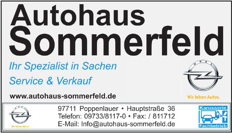 Autohaus Sommerfeld