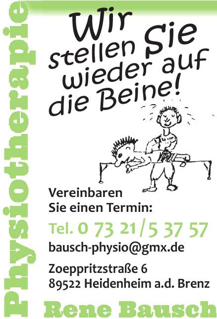 Physiotherapie Rene Bausch