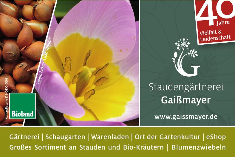 Staudengärtnerei Gaißmayer GmbH & Co. KG