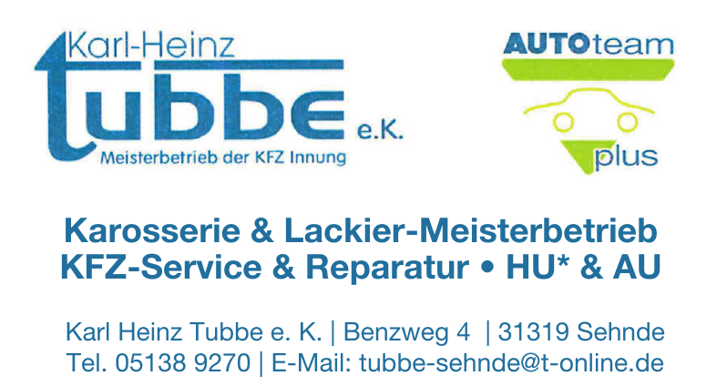 Karl Heinz Tubbe e. K.