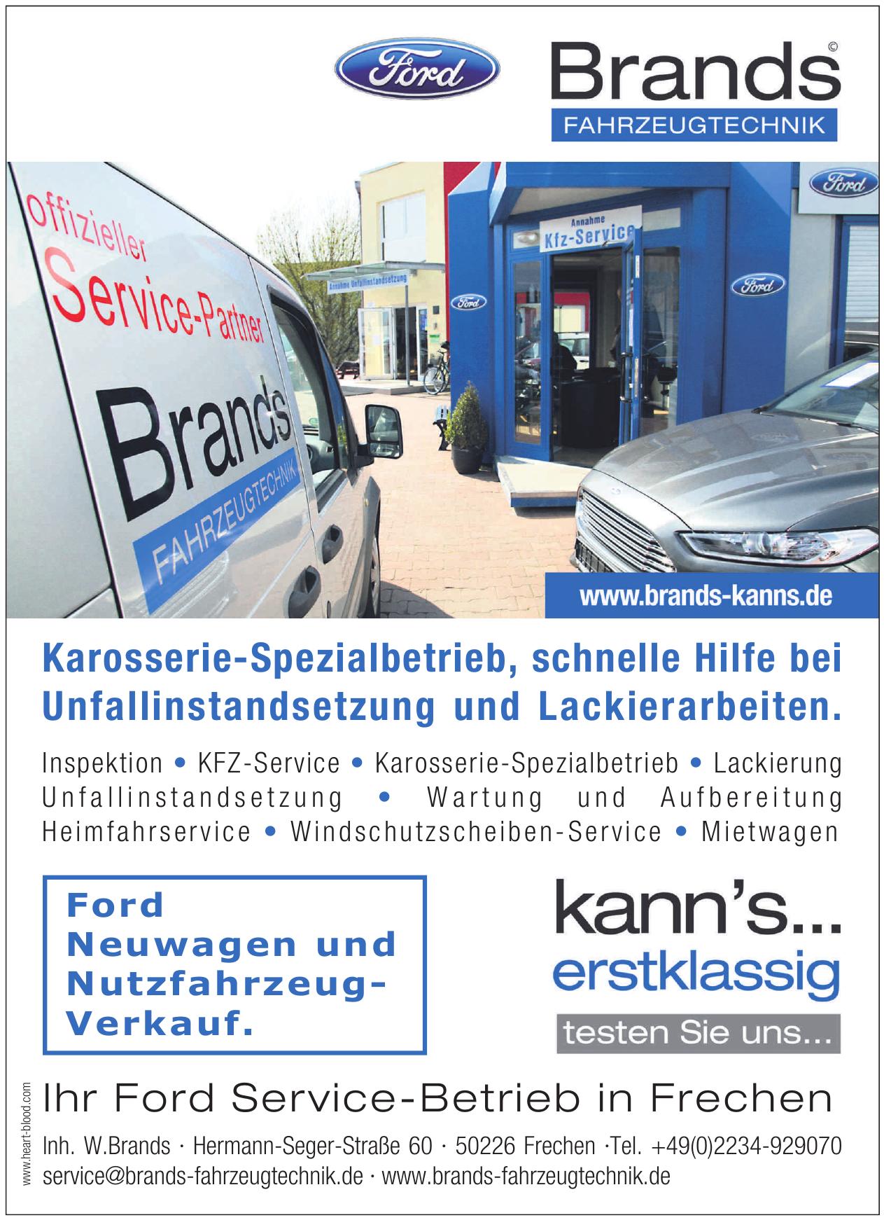 Brands Fahrzeugtechnik