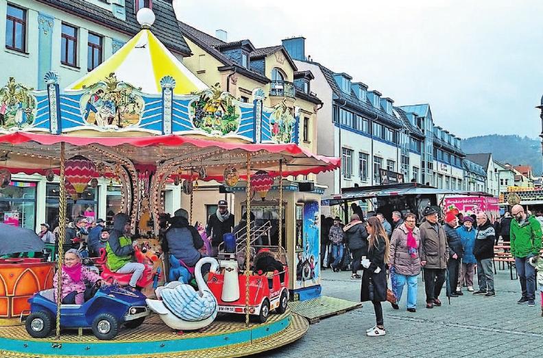 An die jüngsten Besucher ist auch zum Frühlingsfest in Sonneberg wieder gedacht. Foto: Kemnitz
