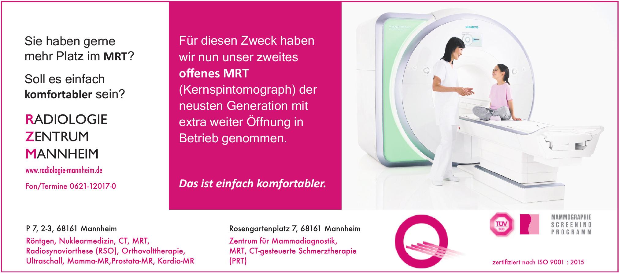 Radiologie Zentrum Mannheim