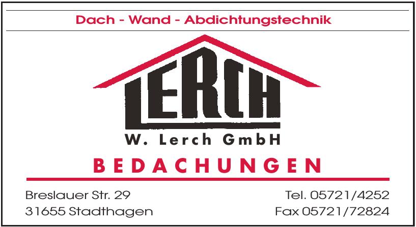 W. Lerch GmbH Bedachungen