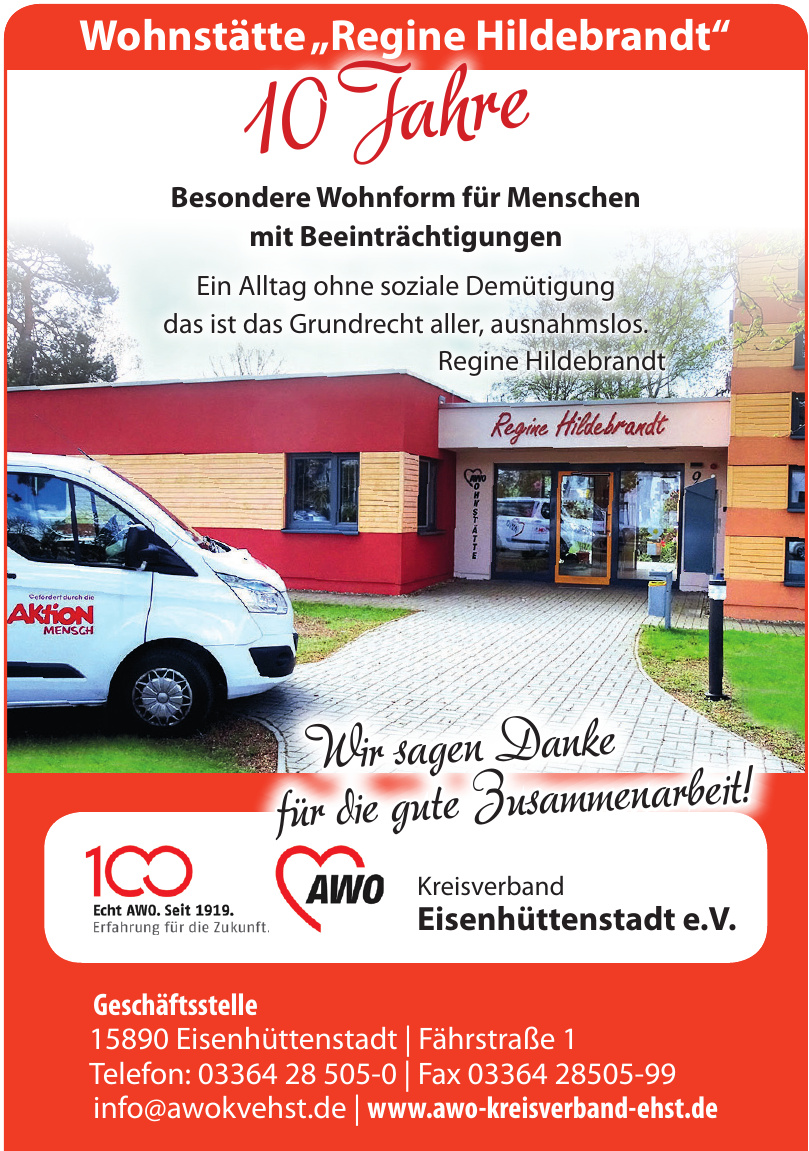 AWO Kreisverband Eisenhüttenstadt e.V.