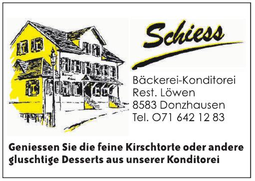Schiess Bäckerei-Konditorei
