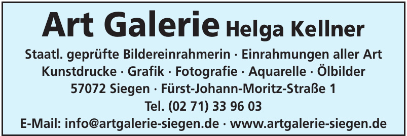 Art Galerie Helga Kellner