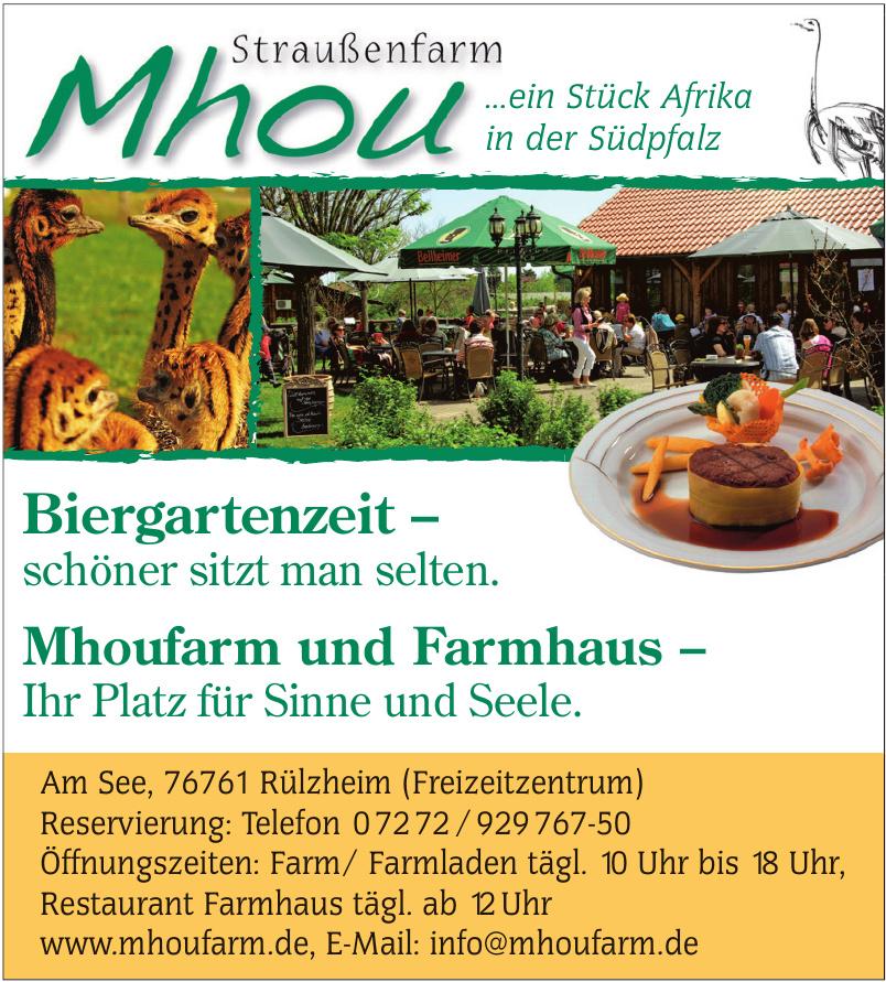 Mhou Straußenfarm
