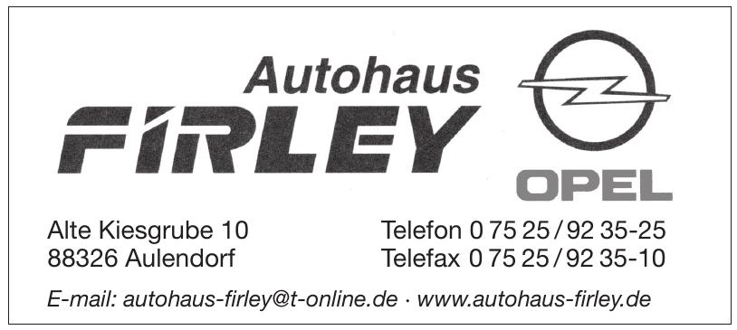 Autohaus Firley GmbH & Co. KG