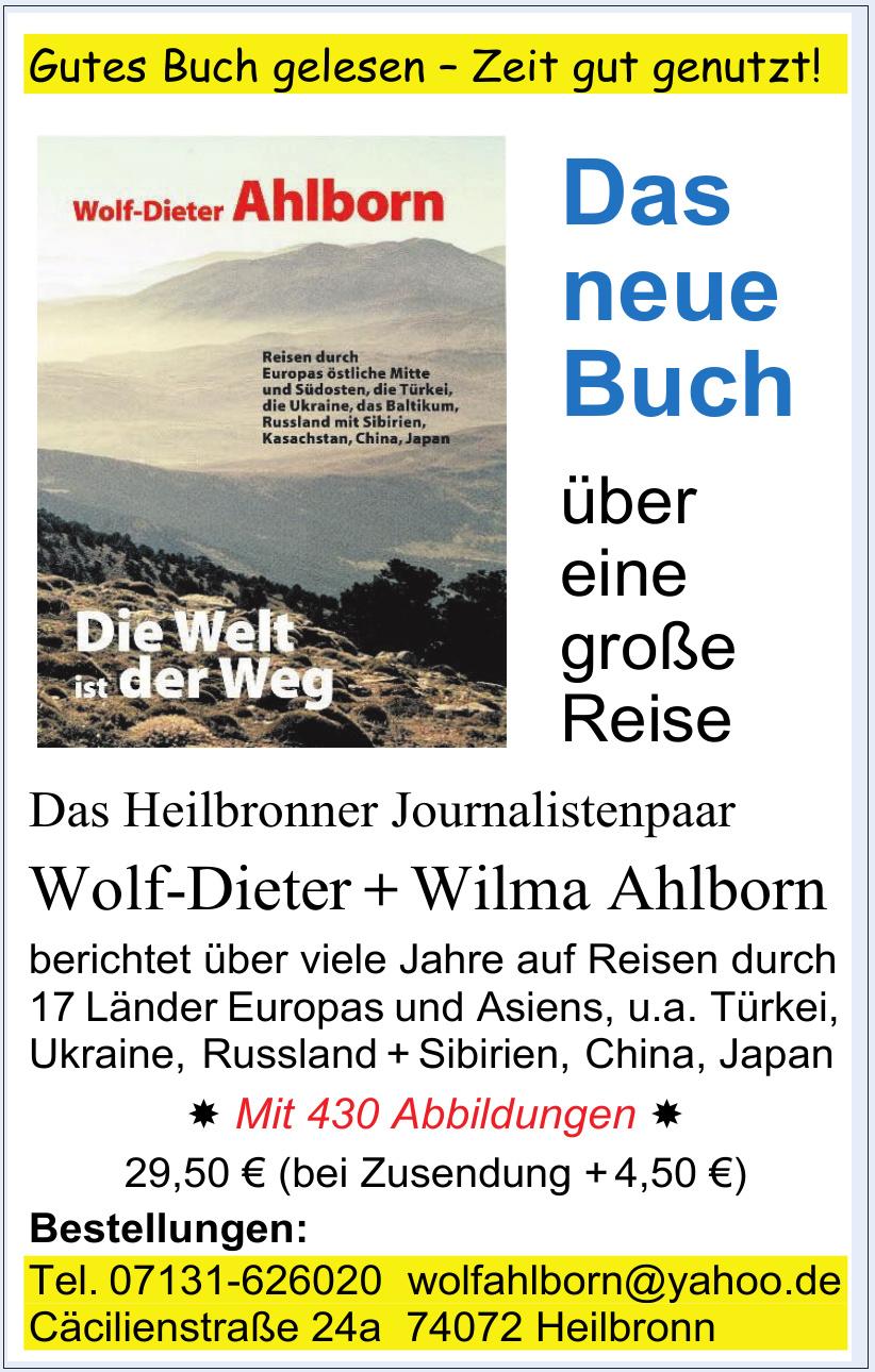 Wolf-Dieter + Wilma Ahlborn