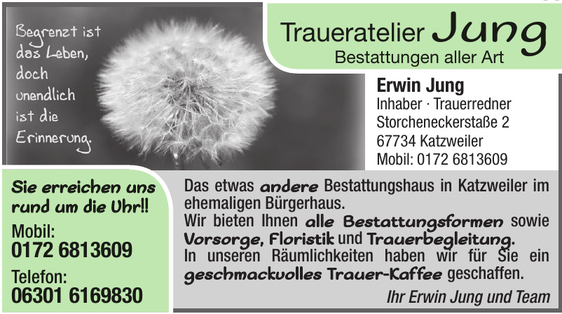 Traueratelier Jung