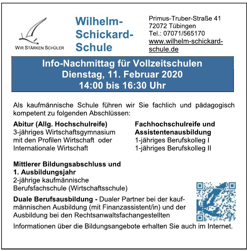 Wilhelm-Schickard-Schule