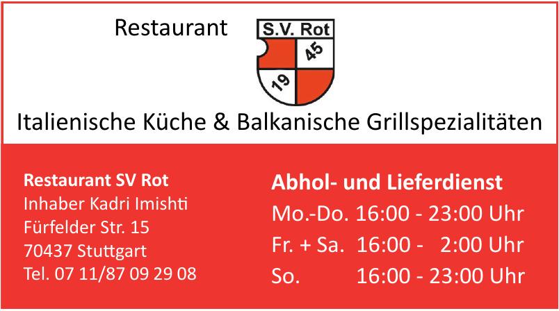 Restaurant SV Rot