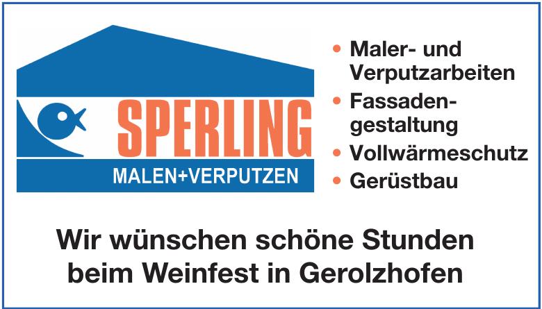 Sperling Malen + Verputzen