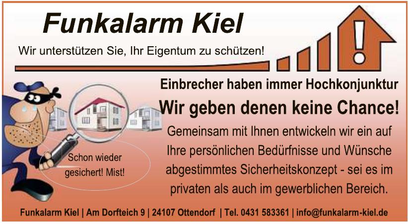 Funkalarm Kiel