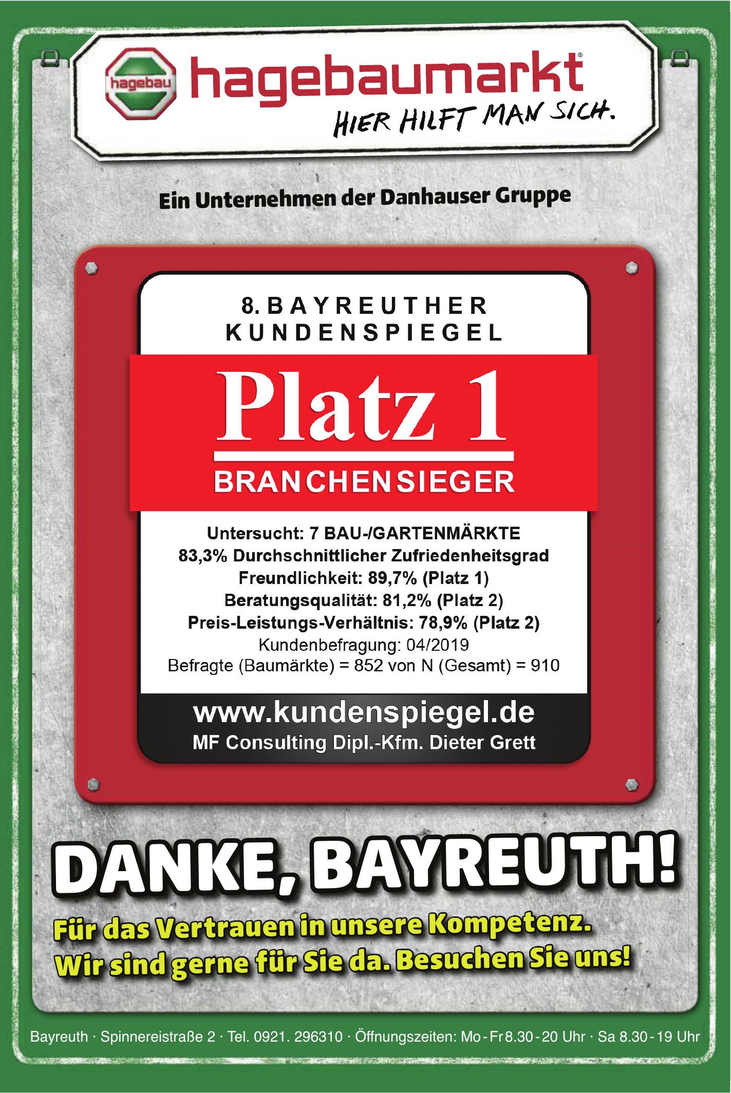 hagebaumarkt Bayreuth