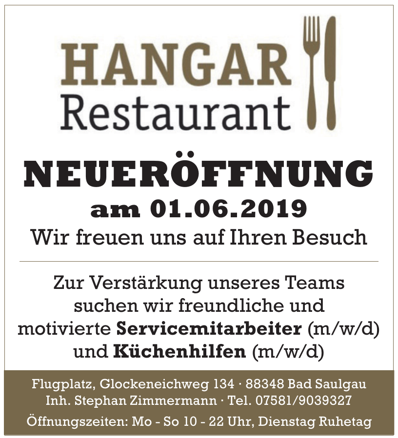 Hangar Restaurant